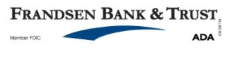 Frandsen Bank & Trust -2