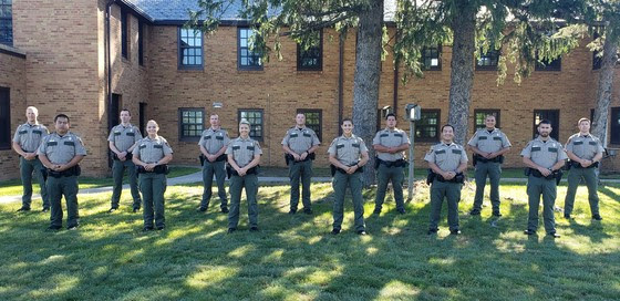 DNR new officers