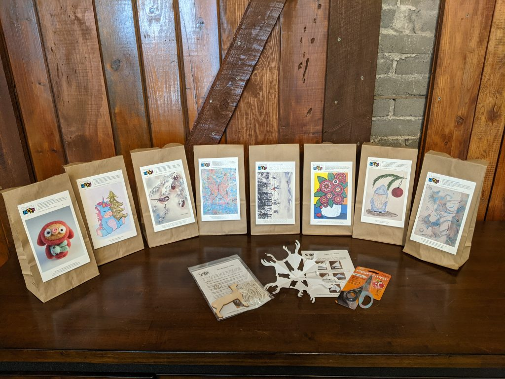 Crossing Arts Alliance Creativity Kits