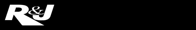 R&J Broacasting BW Logo
